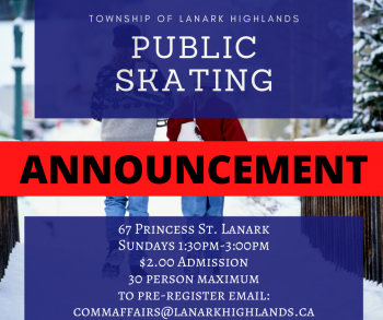 Weekly Public Skating is Back!